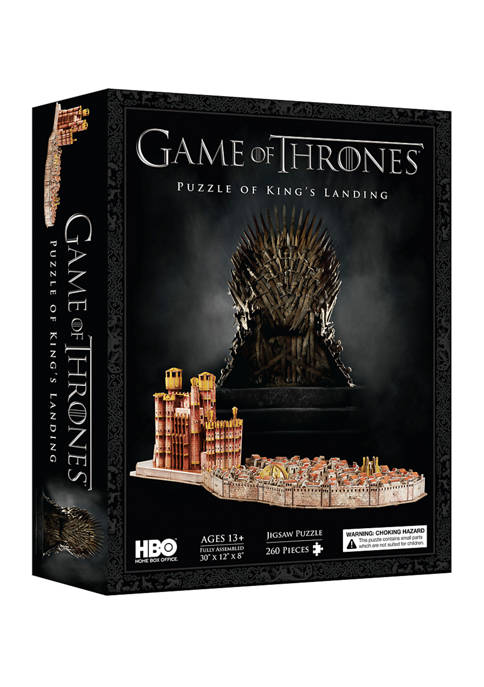 4D Cityscape Game of Thrones: Kings Landing 3D