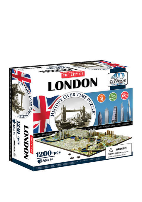 4D Cityscape Time Puzzle - London, England