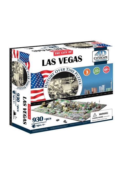 4D Cityscape Time Puzzle - Las Vegas, USA