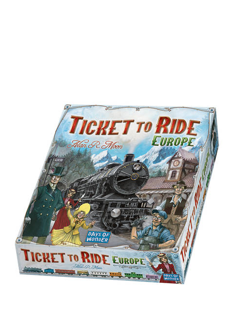 Ticket to Ride Europe Strategy Game
