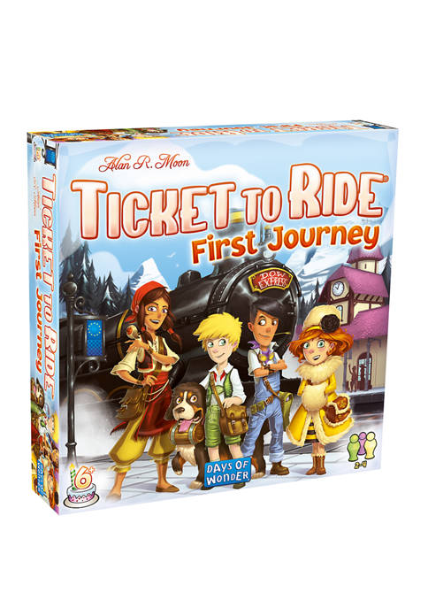 Days of Wonder Ticket to Ride Strategy Game:
