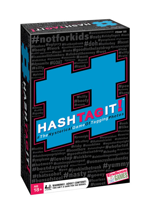 Endless Games #HashTagIt! Party Game