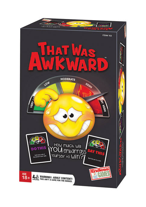 Endless Games That Was Awkward Party Game