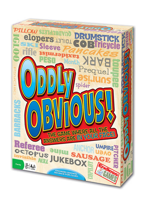 Oddly Obvious Family Game