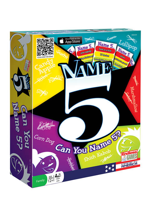 Name 5 Party Game