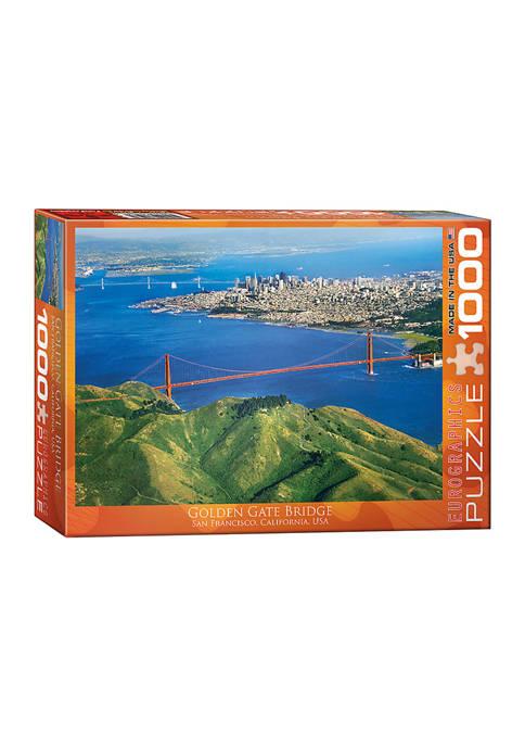 Eurographics Inc Golden Gate Bridge, San Francisco, California,