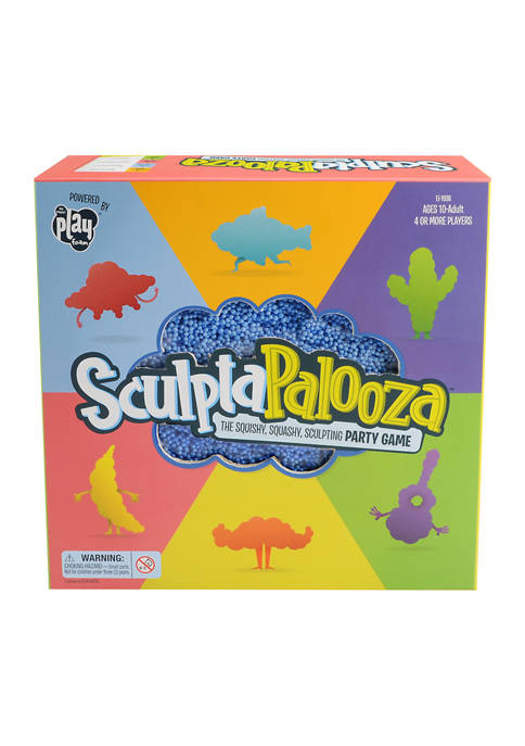 SculptaPalooza - The Squishy, Squashy, Sculpting Party Game