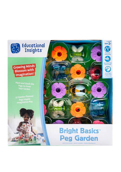Educational Insights Bright Basics Peg Garden