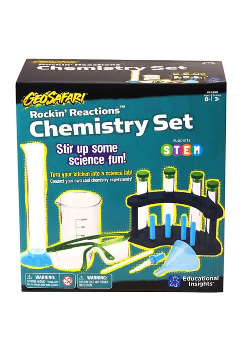 Educational Insights GeoSafari Rockin Reactions Chemistry Set