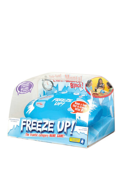 Freeze Up! Word Game