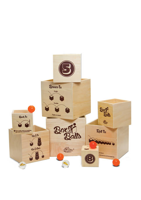 Fat Brain Toy Co. Box and Balls Kids