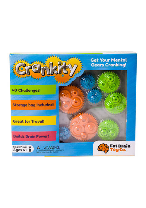 Fat Brain Toy Co. Crankity Brain Teaser Puzzle