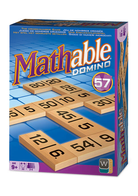 Mathable Domino Family Game