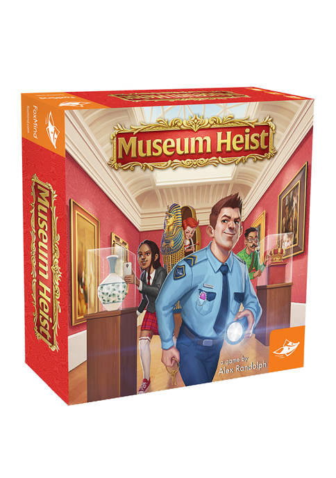 FoxMind Games Museum Heist Strategy Game