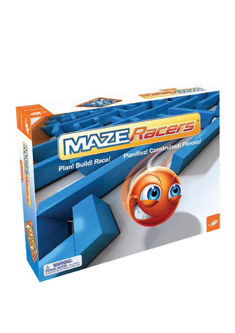 FoxMind Games Maze Racers Strategy Game