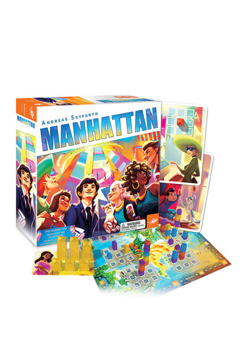 FoxMind Games Manhattan Strategy Game
