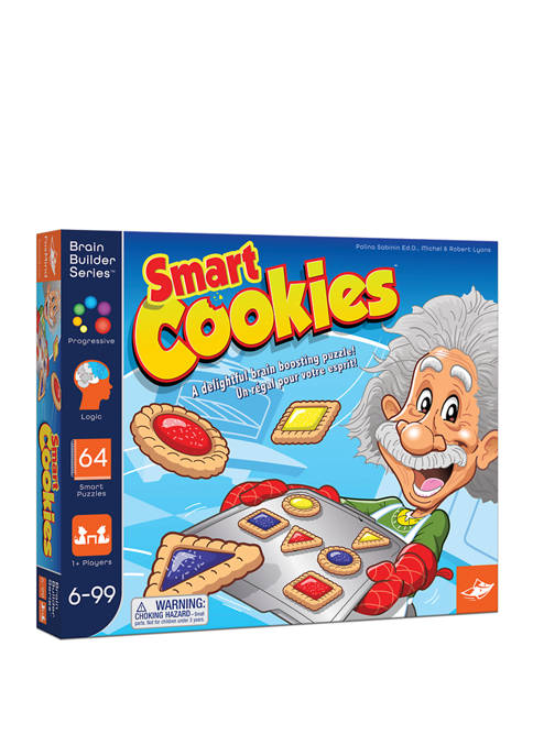 FoxMind Games Smart Cookies Brain Teaser Puzzle