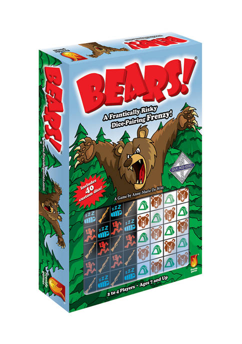 Fireside Games Bears! Dice Game