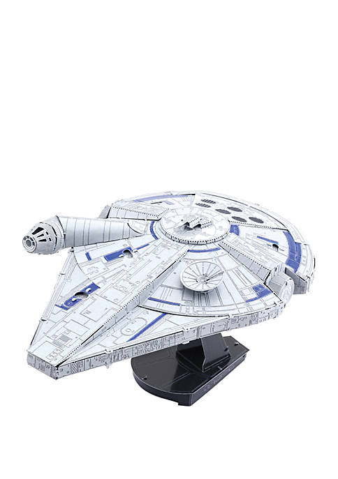 Star Wars Landos Millennium Falcon Metal Earth ICONX 3D Metal Model Kit