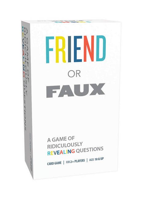 Friend or Faux Adult Party Game