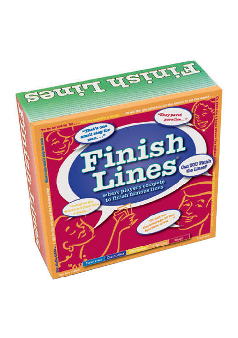 Games For All Reasons Finish Lines Party Game