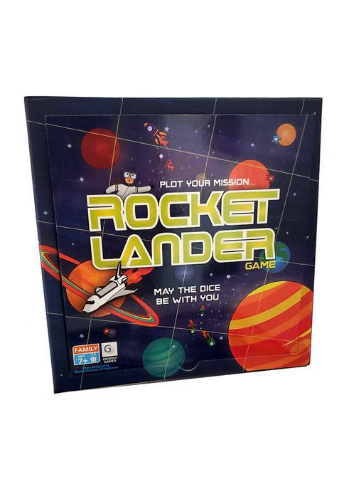 Griddly Games Rocket Lander Game