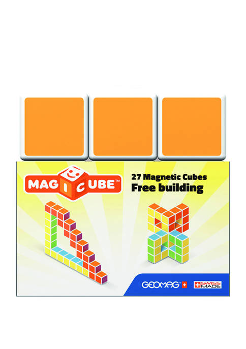 Geomag 27 Piece Magicube Free Building