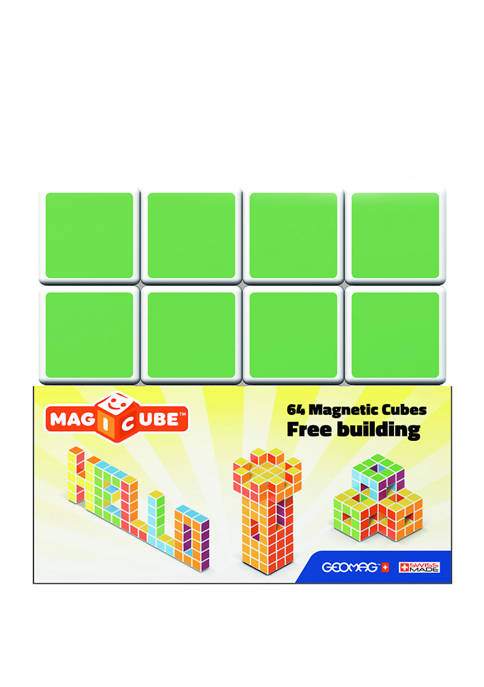 64 Piece Magicube Free Building