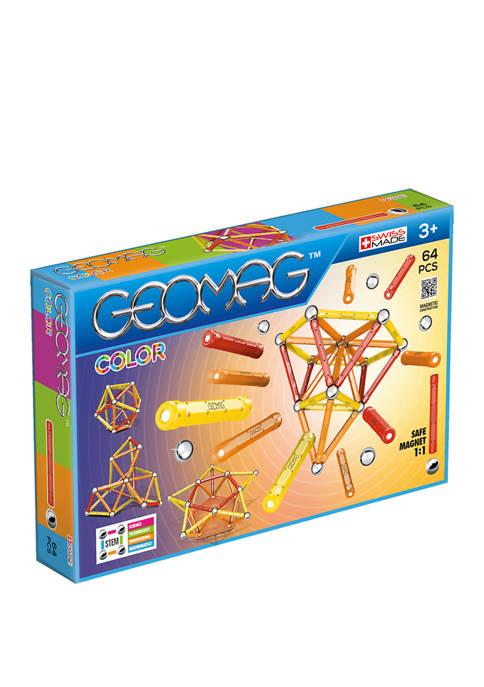 Geomag Color: 64 Pieces