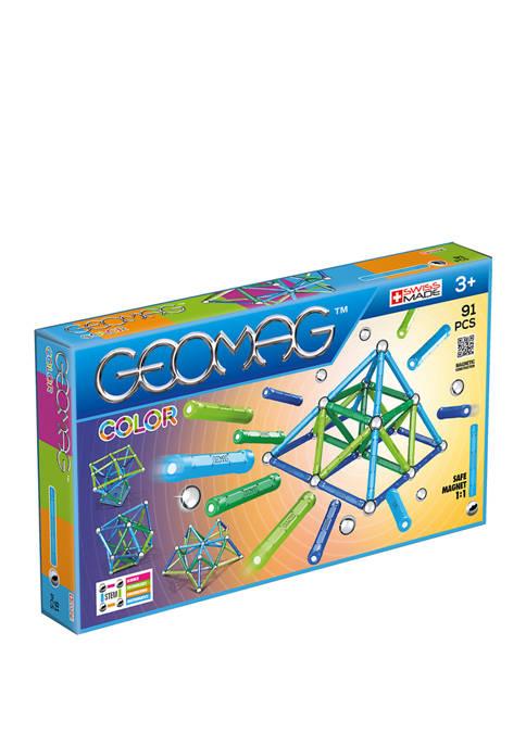 Geomag Color: 91 Pieces