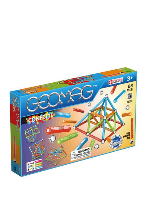 Geomag 88 Piece Confetti Set