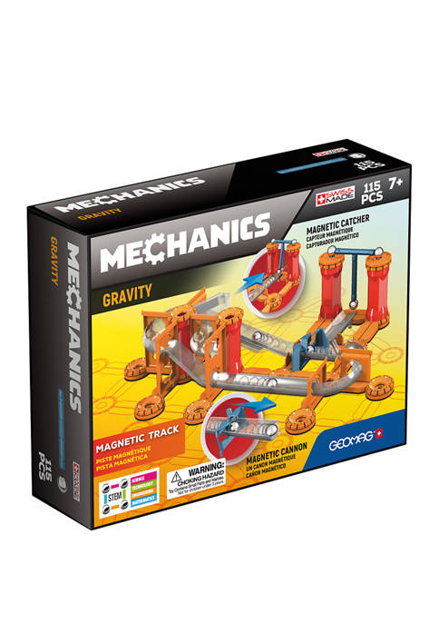 Geomag 115 Piece Mechanics Gravity Magnetic Track Set