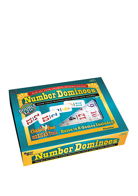 Premium Double 12 Number Dominoes Set