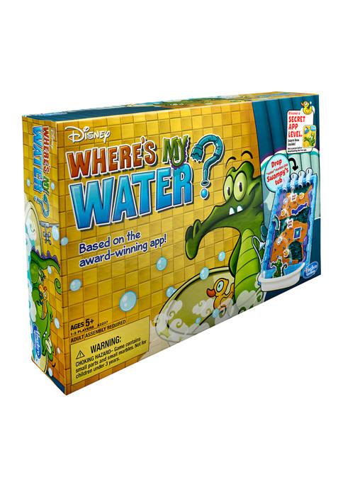 Disney Wheres My Water? Signature Game