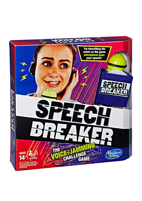 Hasbro Speech Breaker Adult Party Game