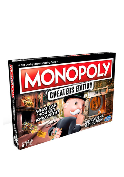Hasbro Monopoly Cheaters Edition Family Game