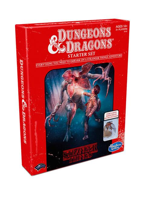 Hasbro Stranger Things Dungeons & Dragons Strategy Game