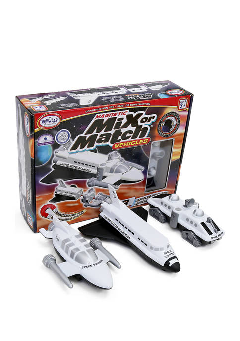 Magnetic Mix or Match Vehicles: Space Explorer Set