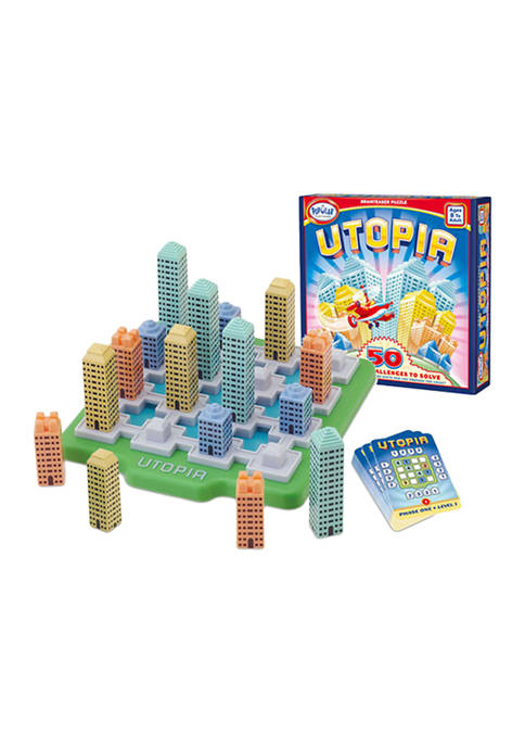 Popular Playthings Utopia Brain Teaser Puzzle