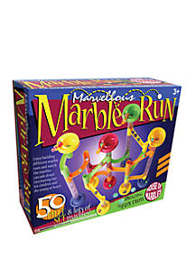 House of Marbles 50 Piece Marvellous Marble Run