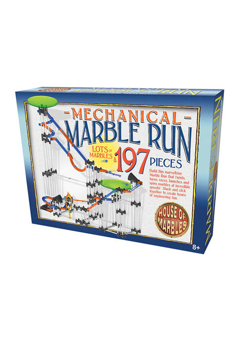 House of Marbles Mechanical Marble Run: 197 Pieces