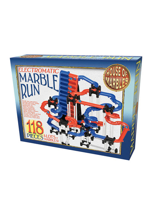 House of Marbles Electromatic Marble Run: 118 Pieces