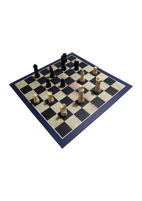 House of Marbles 3-in-1 Chess, Draughts/Checkers, &