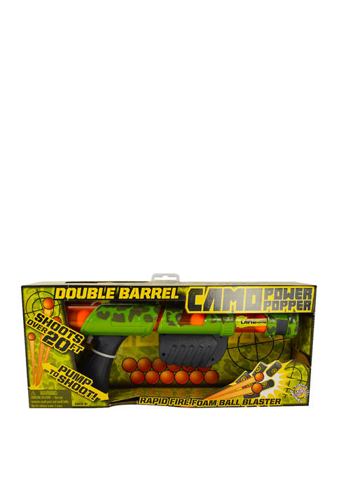 Hog Wild Camo Double Barrel Power Popper Foam