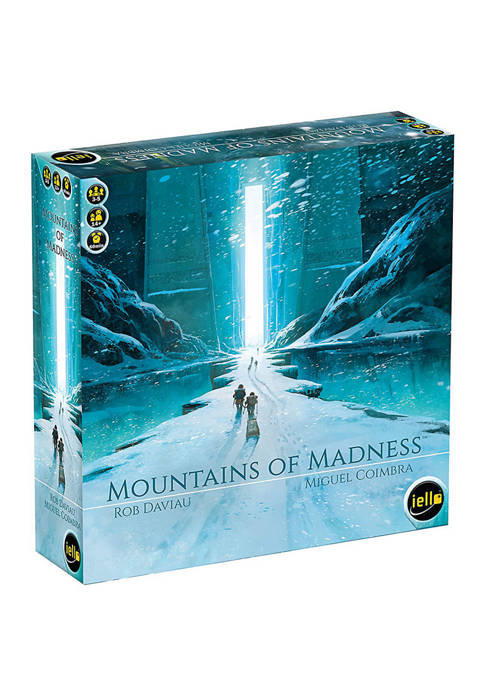 IELLO Mountains of Madness Strategy Game