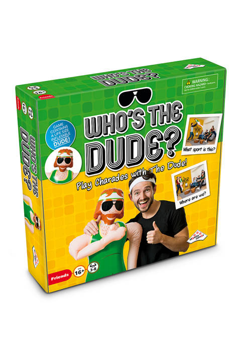 Identity Games Whos the Dude? Adult Party Game