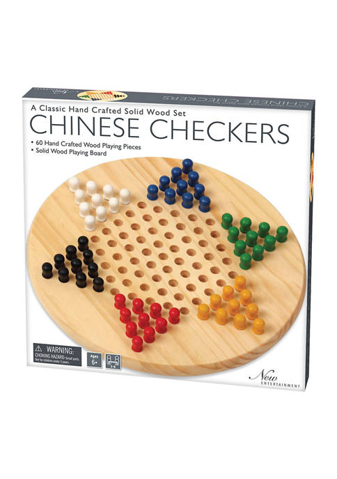 Briarpatch Solid Wood Chinese Checkers
