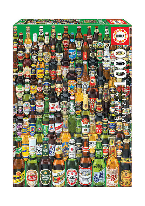 Educa Beers Jigsaw Puzzle: 1000 Pieces