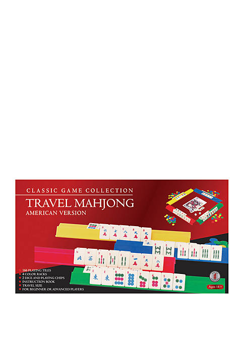 Classic Game Collection American Version Travel MahJong Game