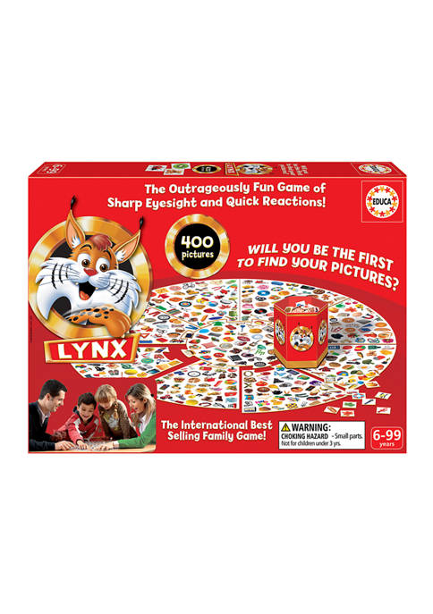 Educa Lynx Family Game
